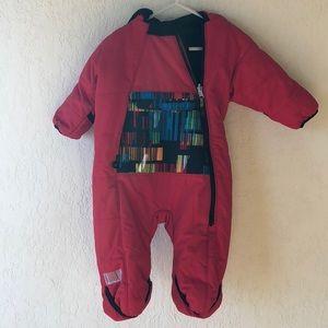 OBERMEYER   Infant / Baby Snowsuit EUC Fleece